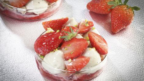 Le fraisier - Gâteau du mois de juin 2019